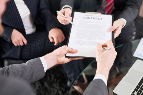 Enforce contracts