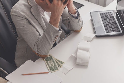Collect outstanding debts